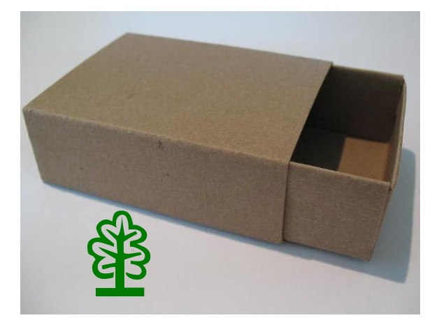 Matchboxes tree hugger box for Blank matchboxes for crafts