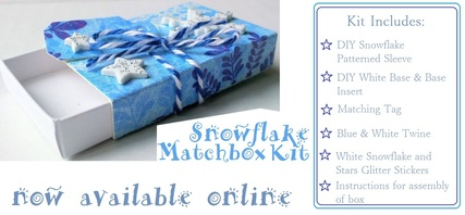 Holiday Snowflake Matchbox Kit